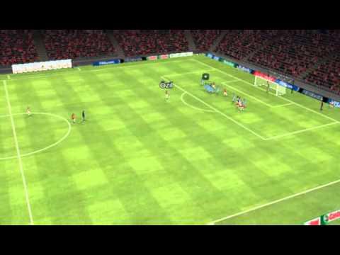 Arsenal x Zenit - Gol de Özil 19 minutos