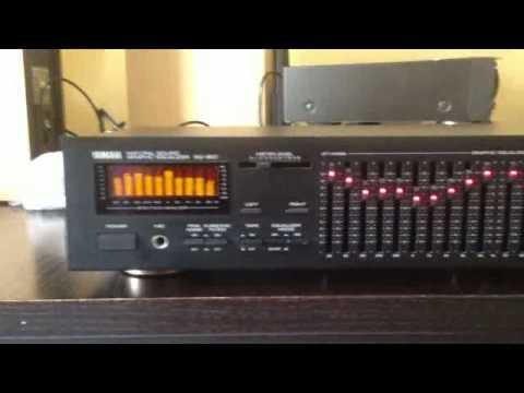 Yahama EQ-550 Equalizzatore grafico 10+10bande TOP