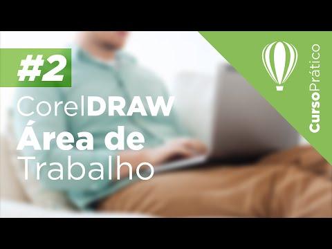 Curso prático de Design Gráfico #2 - CorelDRAW - Àrea de trabalho