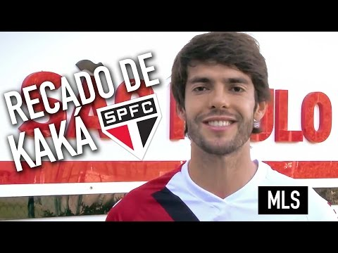 A message from Kaká to the MLS All-Star players - São Paulo FC