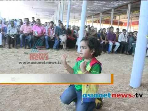 രണ്ടര വയസ്സുകാരി മുത്തിന്റെ പ്രകടനം Kerala School Kalolsavam 2014:kerala School Kalolsavam 2014 video