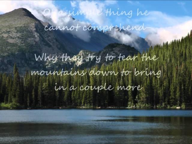 Rocky Mountain High +Lyrics (John Denver)