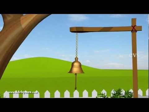 Ding Dong Bell - 3D Animation English Nursery Rhyme For Children With Lyrics