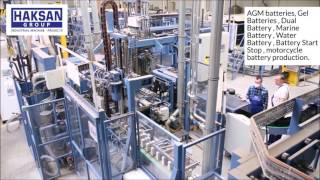 Battery Production Machines (HAKSAN GROUP)
