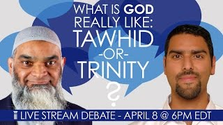 Video: What is God like: Tawhid or Trinity? - Shabir Ally vs Nabeel Qureshi