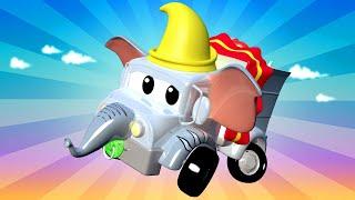 những chiếc xe tải dành cho thiếu nhi - Xe cứu thương Amber nhí là chú voi Dumbo ! - Thành phố xe