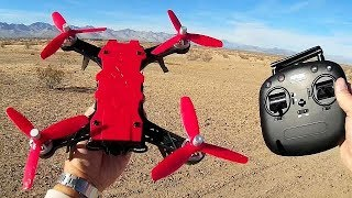MJX RC Bugs 8 Pro Acro Trainer Drone Flight Test Review