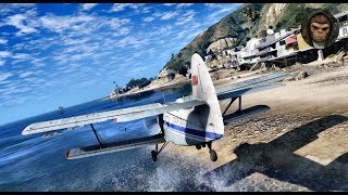 ► GTA 6 Graphics - Flying Gameplay ! ✪ M.V.G.A. - Realistic Graphics MOD 60FPS