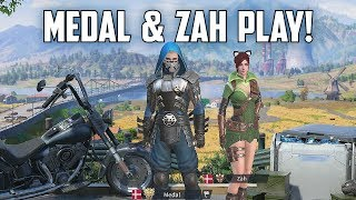 MEDAL & ZAH PLAY! - Rules of Survival Livestream