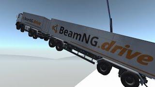 High Speed Crash Compilation 25 - Ski Jump - BeamNG.Drive Car Accident
