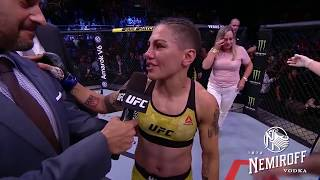 UFC 237: Jessica Andrade and Rose Namajunas Octagon Interview