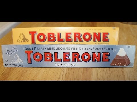 Toblerone Taste Test & Review