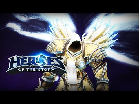 ♥ Heroes of the Storm (Gameplay) - Tyrael, The Damage Dealer (HoTs Quick Match)
