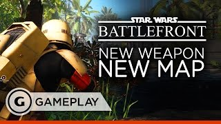 Trying the New Revolver on Scarif - Star Wars Battlefront Gameplay