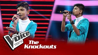 Adeesha Kavinga | Dance Monkey | Knockouts | The Voice Teens Sri Lanka