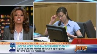 Did Jodi lie to her expert witness?