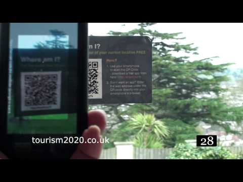 QR codes and tourism give visitors information