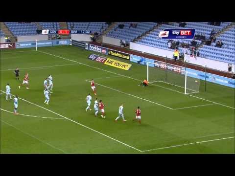 Match highlights: Coventry v Swindon