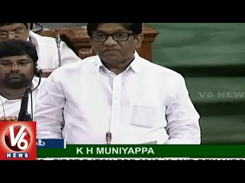 MP Vinod Urges Govt To Give National Status To Irrigation Project In Telangana | V6 News