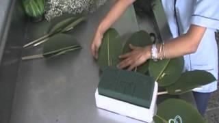 Floristería el Olivar arreglo funebre