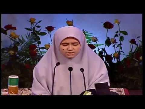 Majlis Tilawah Dan Hafazan Al-quran Peringkat Antarabangsa Ke-56,2014(peserta Hafazan Dari Malaysia) video