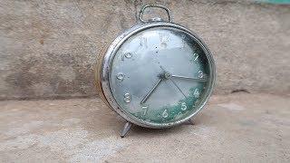 Very Old Round Clock Restoration - [ Art Restoration ]