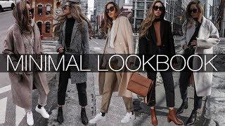 MINIMAL LOOKBOOK