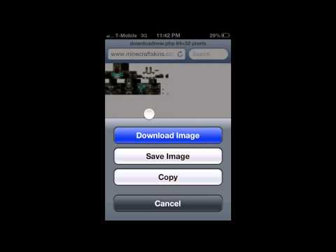How To Change Minecraft PE Skins On iOS (EASY)