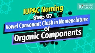 15. IUPAC Naming Step 07: Vowel Consonant Clash in Nomenclature of Organic Components