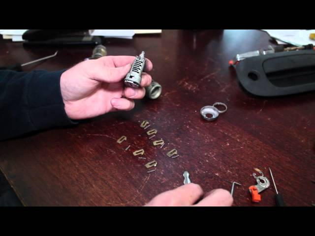 Recode, Rekey Car Door Lock Cylinder - Use Any Key to ...