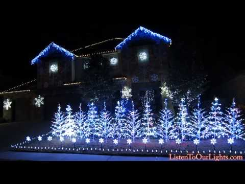 Frozen Christmas Lights (Let It Go) 2014