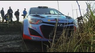 WRC Wales Rally GB, Highlight GoPro, Robert Kubica, Sebastien Ogier