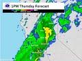 Precipitation Forecast for March 9-10, 2016