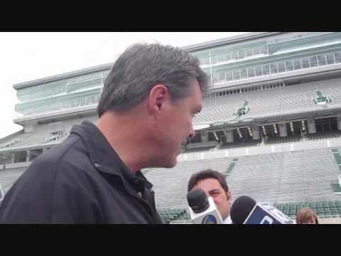 U2 360° Tour Director Craig Evans talks @ Spartan Stadium - June 24, 2011 (part 2 of 2)