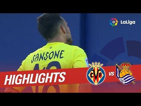 Resumen de Villareal CF vs Real Sociedad (2-1)