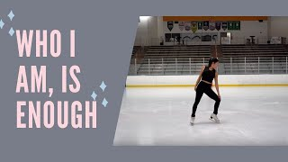 JESS GLYNNE- THURSDAY (FIGURE SKATING MUSIC VIDEO) || Ailie Hughes Cover | Coach Michelle Hong