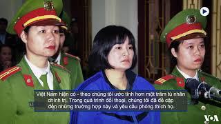 Đối thoại nhân quyền Mỹ- Việt (VOA)