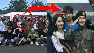 170918 Yoona Lim visit Siwan in Army/Military with TKL cast, but didn