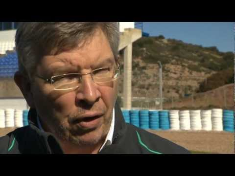 F1 W04 launch -- Ross Brawn interview