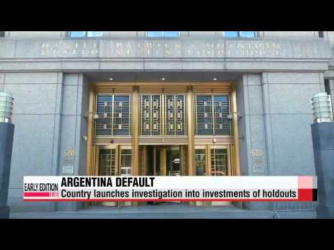 Argentina launches investigation into U.S. holdout hedge funds