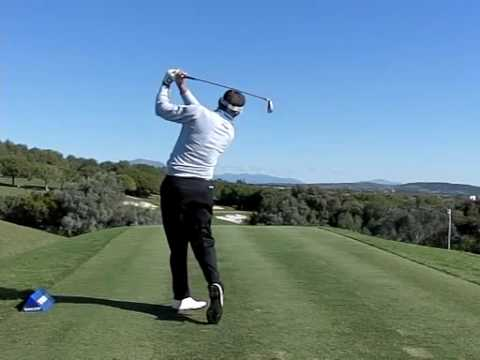 Lee Westwood Super Slow Motion Golf Swing