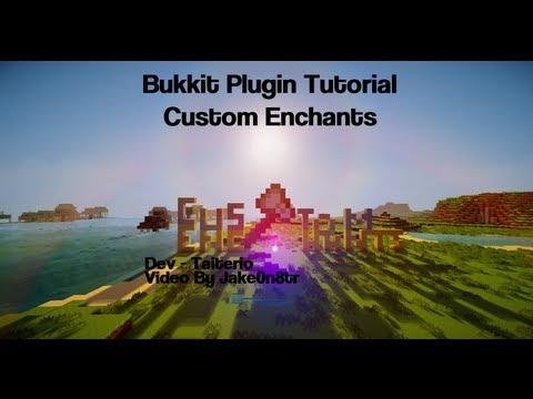 Bukkit Plugin Showcase - Custom Enchantments