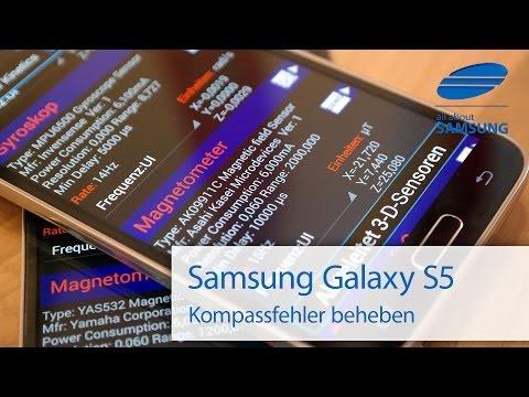Samsung Galaxy S5 Kompass Bug & Temporäre Lösung durch Kalibrieren