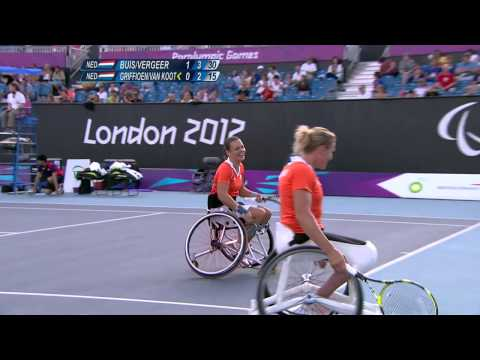 Wheelchair Tennis - Women's Doubles Gold Medal - NED versus NED - London 2012 Paralympic Games
