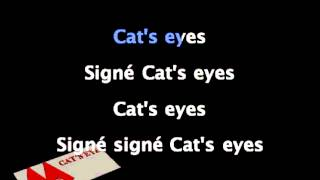 Signé Cat's Eyes - Générique Karaoké instrumental