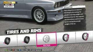 Forza Horizon BMW E30 M3 Drift Build