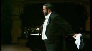 Luciano Pavarotti Video - Luciano Pavarotti - Dolente Immagine Di Fille Mia