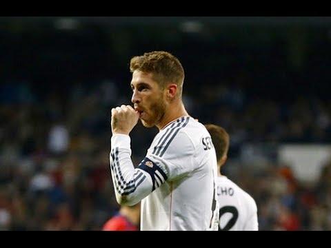 Gol Sergio Ramos (Real Madrid 4-0 Osasuna)