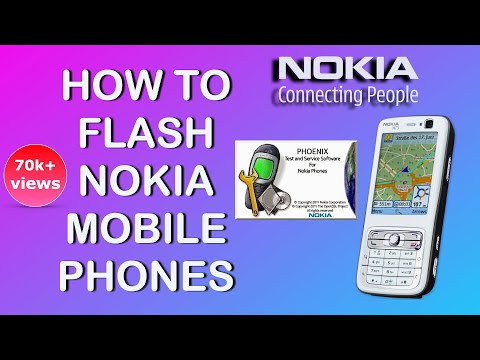 FLASHING NOKIA PHONES USING PHOENIX