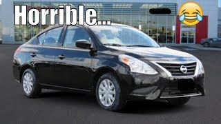 The Worst Car Ever Made? Lets Review The 2018 Nissan Versa!